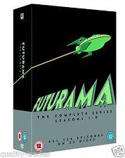❏ Futurama - Season 1 - 8 Complete Series Collection DVD Set ❏ 1 2 3 4 5 6 7 8
