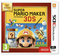 Super Mario Maker Nintendo 3DS Game Brand New & Sealed XL 2DS