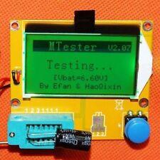 LCR-T4 Transistor Tester Diode Capacitor ESR LCR Meter MOS PNP NPN UK SELLER