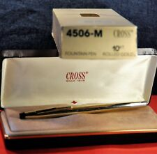 """Cross"" Executive Century 10k Fountain Pen 4506-M 14K 585 Medium nib Orig.box"