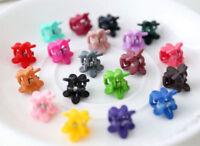 Fashion 30PCS Lots Baby Girl Plastic Hair Claw Cartoon Mini Clip Clamp Kids Cute