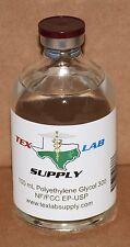 Tex Lab Supply Polyethylene Glycol 300 (PEG 300) NF-FCC/EP-USP 100 mL