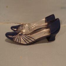 "Womens High Heels 2"" ANNIE Size 13 M Vinyl Purple Dress Pump  New"