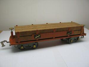 American Flyer Standard Gauge Pre-War Lumber Car