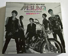 MBLAQ Y Taiwan Special Edition Press CD+DVD + Booklet K-POP - NO Photocard