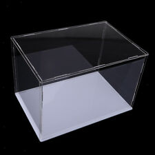 Collectible Clear Acrylic Case Box Perspex Cube Showcase for Action Figures