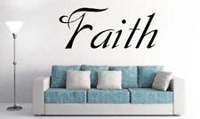 Religious Quote Faith style 2 lounge religion Vinyl wall art Decal Sticker