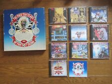 IRON MAIDEN The First Ten Years JAPAN 10 CD BOX SET w/ Booklet TOCP-6181-90