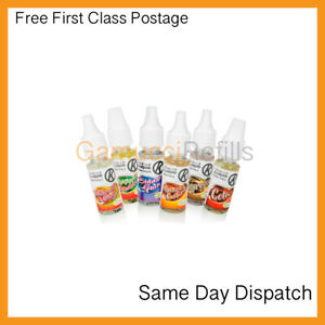 OK Cig E Liquid Juice Various Flavours & Strengths | Compatible with ALL Vapes