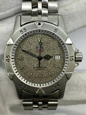 Tag Heuer 200m Watch WD1211-K-20 Men's Watch Perfect Working 36mm