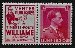 1941 Belgium - with an advertisement, MI- R65