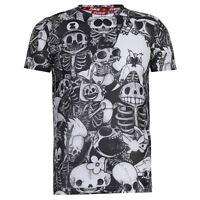 Zukie Mens WB Sub T Shirt Tee Top Short Sleeve Crew Neck Lightweight