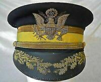 Replica WWI U.S. Army Cavalry M1902 General Officer Hat Cap Hand Embroidery