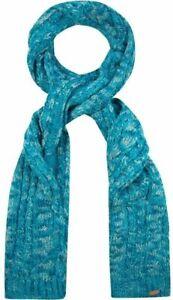 REGATTA Great Outdoors Ladies Chunky Knit Winter Neck Scarf Frosty Aqua Blue NEW