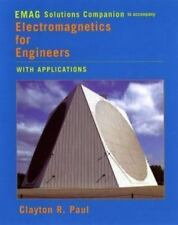 Electromagnetics for Engineers, EMAG Solutions Companion: With Applications to D