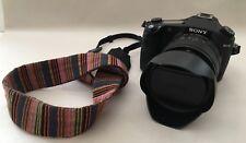 Sony Cyber-shot RX10 20.2 MP Digital Camera Bundle 64GB SD Card, Case, New Strap