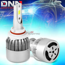 2 IN 1 6000K WHITE LED 9005 HEADLIGHT FRONT LAMP BULBS WITH FAN LIGHTING SYSTEM