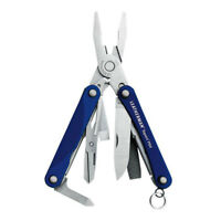 Leatherman Squirt PS4 Multi-Tool Blue Pliers Knife Scissors