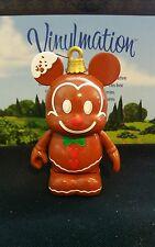 "Disney Park Vinylmation 3"" Set 1 Jingle Smells Gingerbread Christmas Ornament"