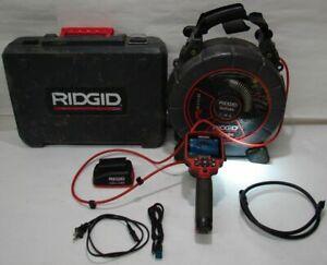 Ridgid SeeSnake Micro Drain Micro CA-300 Micro Reel Video Inspection System