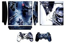 Skin Sticker Cover for PS3 PlayStation 3 Slim and 2 controller skins Aliens Q257