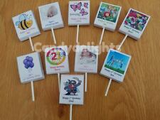 50 Personalised Lollipop WRAPPERS Birthday Party Favours POSTED 1st CLASS