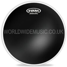 "Evans 13"" Black Chrome Tom Tom Drum Batter Head - TT13CHR"