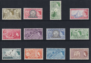 QEII Unmounted mint (MNH) Part set of 1953 issue. Values to 2/- (less 8d & 9d).