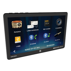 Dual XVM1000UI 10.1-Inch Single-DIN Mechless AM/FM Receiver With Bluetooth