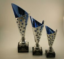 TROPHY CUP SET!  FREE ENGRAVING!  SHIPS IN 1 BUSINESS DAY!!