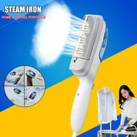 Portable Clothes Steam Iron Home Handheld Fabric Laundry Steamer Brush Travel
