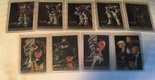 Upper Deck Bandai Gundam Wing Series 1 Insert Cards