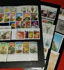 {CACTUS ON STAMPS<Beautiful MNH collection of 83< XF<No Thins<>/epictronic/JC!}