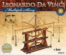 NEU Leonardo da Vinci Multischleuder Modell Bausatz