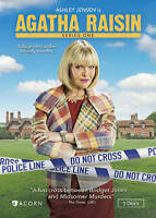 Agatha Raisin: Series One (DVD, 2016, 3-Disc Set)