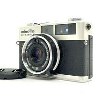 【N MINT++】 Minolta Hi-Matic F Rangefinder Film Camera W/Rokkor 38mm f/2.7 JAPAN