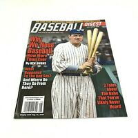 Baseball Digest July August Babe Ruth Cover Brand New