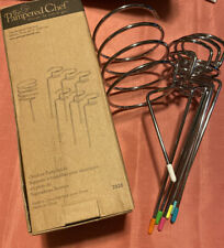 Pampered Chef Outdoor Party Sticks #2828 Nib Missing Paper for Wine Bottle