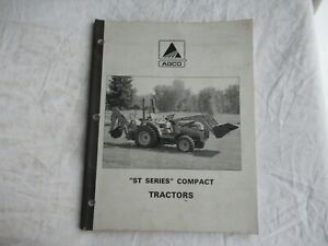 AGCO ST 25 30 35 40 45 series tractor features benefits and specification manual