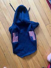 American Flag Navy Dog Sweatshirt