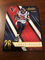 Lamar Miller 2016 Panini Absolute Texans Card #12 *306*