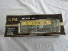 K-LINE ILLUMINATED READING CABOOSE 612802