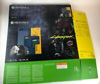 Original Replacement Box for Xbox One X 1TB Cyberpunk 2077 NO CONSOLE BOX ONLY