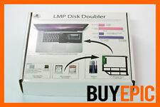 LMP Disk Doubler 10412 Einbaurahmen Kit, SSD HDD Festplatte für Macbook & Pro
