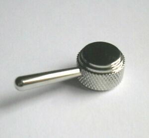 "Duesenberg ""Rotary Switchknob"" Schalter-knopf nickel 18 mm"