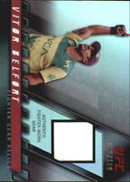 2010 Topps UFC Knockout Fighter Gear Relics Card #FGVB Vitor Belfort /188