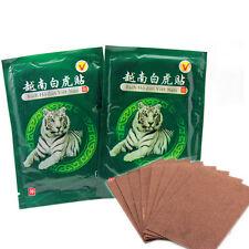 Magic White Tiger Pain Treatment Balm Ache Relief Herbal Rheumatism 16x Stickers