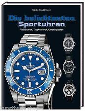 Fachbuch Die beliebtesten Sportuhren, Audemars Piguet, IWC, Rolex, STATT 19,99 €