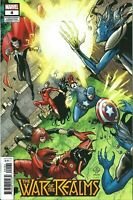 War of the Realms #4 International Connecting Variant Marvel comic 2019 NM