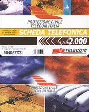PRIVATA RESA PUBBLICA C&C 2692 GOLDEN 349 - PROTEZIONE CIVILE TELECOM - NUOVA